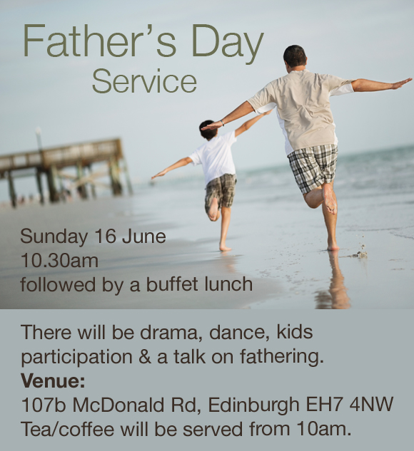 Father's Day Family Service
