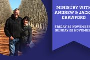 Ministry Weekend Andrew and Jacky Crawford